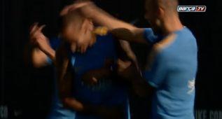 Neymar, la cara más conocida en la sesión del Barcelona
