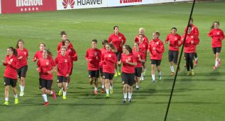 Debuta el Atlético Féminas: ¡comienza la Champions!