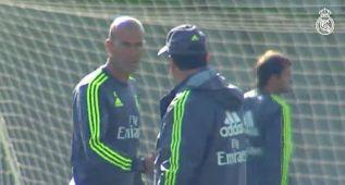 Último entrenamiento del Real Madrid esta semana