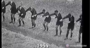 La evolución de la haka de los All Blacks en casi 100 años