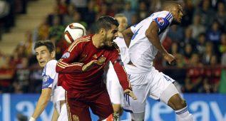 Así fue la jugada que disparó las alarmas por Morata