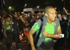 Brasil tuvo cálido recibimiento de sus hinchas en Fortaleza