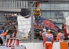 Grave accidente de Carlos Sainz en el GP de Rusia