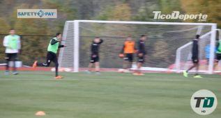 Keylor Navas se pasa a delantero: golazo de chilena