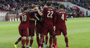 Rusia gana a Montenegro y obtiene el billete para la Euro