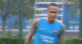 El Barcelona retoma los entrenamientos para la Liga