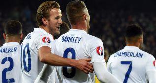 Inglaterra cierra en Lituania la fase de clasificación perfecta