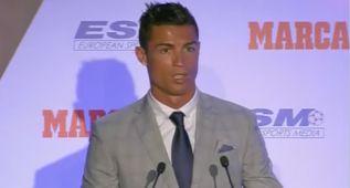 """Cristiano: """"Soy el único con cuatro, pero quiero más"""""""