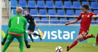 Asistencia de oro de Deulofeu y gran gol de caño de Óliver