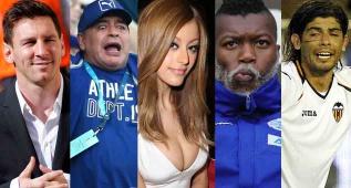 Los escándalos más graves y sonados de los futbolistas