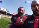 ¡Los momentos más divertidos del Mundial de Rugby!