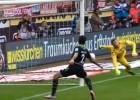 Hannover de Miiko Albornoz ganó con un gol con la mano
