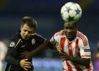 Un gol de Ideye coloca al Olympiakos como colíder