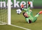 ¡Qué mala suerte tuvo David De Gea en el gol del CSKA!