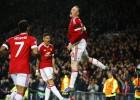 Un gol de Rooney da el liderato al Manchester United