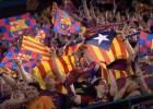 Se repartirán 30.000 esteladas para vestir el Camp Nou