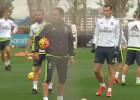 Bale y Carvajal ya trabajan con el grupo de cara al Pizjuán