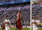 El gol que pudo ser de Vidal en nuevo triunfo del Bayern