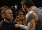 ¡Wayne Rooney fue a la WWE y se encaró con un luchador!
