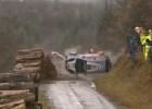 Espectacular accidente de Thierry Neuville en Gales
