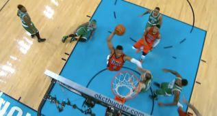 Westbrook destroza otro aro en las mejores jugadas