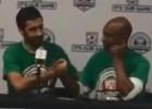 La última rueda de prensa de Raúl y Senna como jugadores