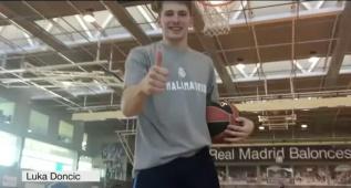 El equipo de baloncesto apoya al Madrid para El Clásico