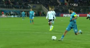 El pase de la Champions lo dio Shatov en el 2-0 del Zenit