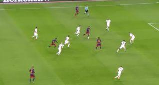 ¿Y la magia no existe? Vean el segundo gol del Barça al Roma