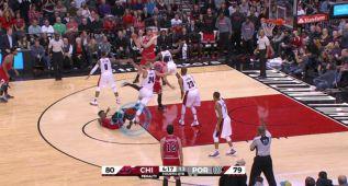 La garra de Pau salva el triunfo de los Bulls ante los Blazers
