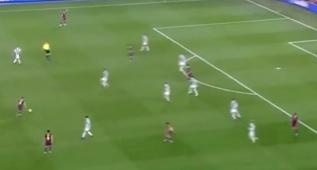 5 goles al más puro estilo 'tiqui-taca' del Barcelona