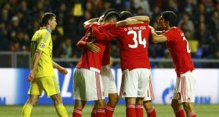 El Benfica salva un punto y le vale el empate ante el Atleti