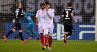 El Sevilla cae en Alemania y se despide de los octavos de final