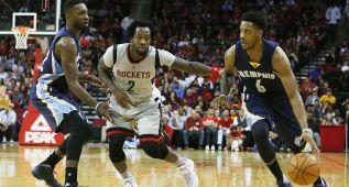 Ni Harden salva a los Rockets: Sexta victoria para Memphis