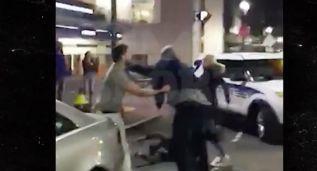 Okafor se pelea con un hincha a la salida de un club de Boston