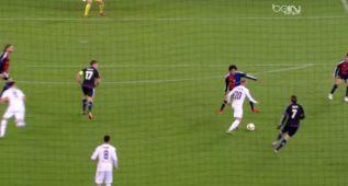La asistencia de lujo de Borja Valero en el primer gol