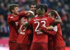 Los goles del Bayern de Vidal con que derrotó al Hertha BSC