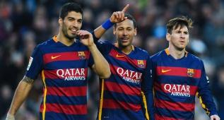 La maravillosa triangulación de la MSN que finalizó Messi