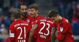 El Bayern de Guardiola sigue intratable en Bundesliga