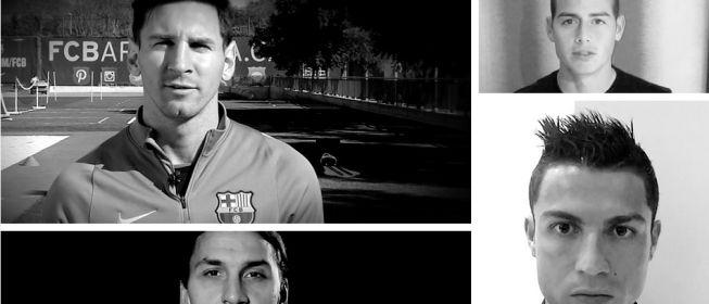Cristiano, Messi o James entonan así el `Je suis París´