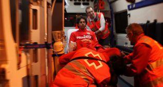 Tiago se marchó del Calderón en ambulancia antes del final