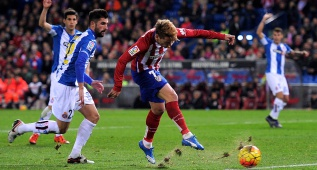 El Atlético suma puntos al ritmo de Griezmann