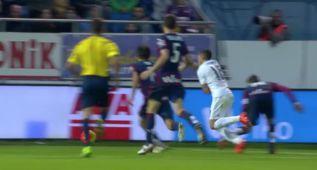 Dani García sí tocó a Lucas Vázquez en el penalti del 0-2