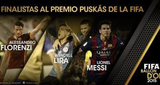 Descubre los 3 golazos que aspiran al Premio Puskas 2015