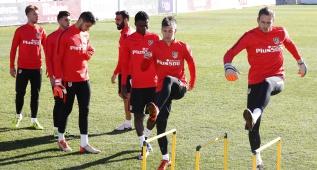El Atlético prepara el duelo de Copa ante el Reus