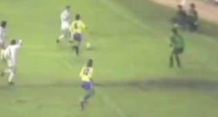 Butragueño hizo uno de los goles de la historia al Cádiz