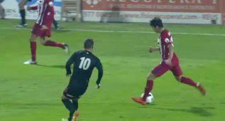El centro de Óliver en el gol de Vietto... se define por sí solo