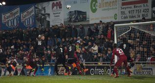 El Atleti vuelve a funcionar a balón parado: buen gol de Saúl