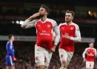 Un gran Özil lidera al Arsenal hasta la segunda plaza