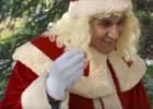 Keylor Navas reparte ilusiones disfrazado de Papá Noel